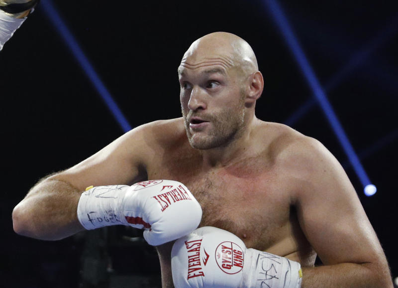 Tyson Fury claims he has accepted offer to fight Mike Tyson