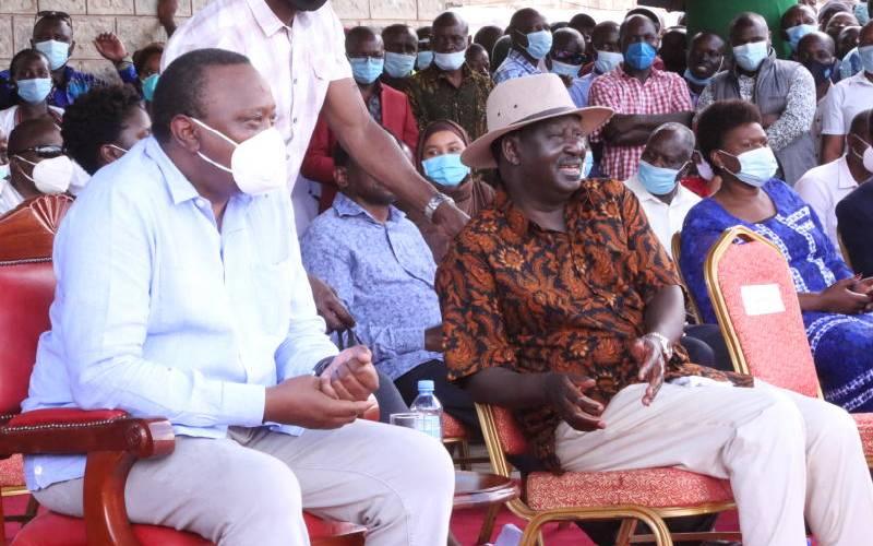 Uhuru, Raila walk tight rope in bid to block BBI changes