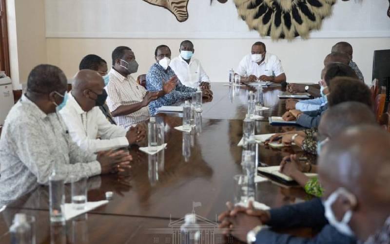 Uhuru's talks with Raila, OKA leaders hit another deadlock