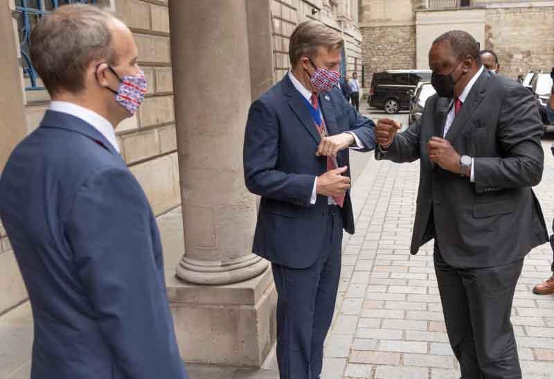 Uhuru's United Kingdom visit earns Kenya big defence deal