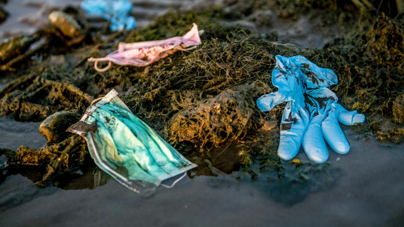 Unmasked: How poorly disposed face masks will end up in your food