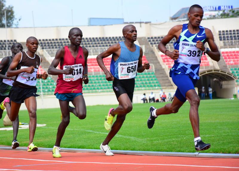 Vincent Keter shines at Nairobi under-20 pre-trials