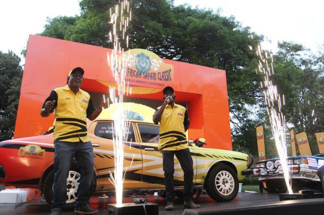 Wahome, Khan ready to relive Safari Rally memories