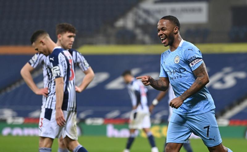 West Brom 0-5 Man City: Guardiola's men batter beleaguered Baggies