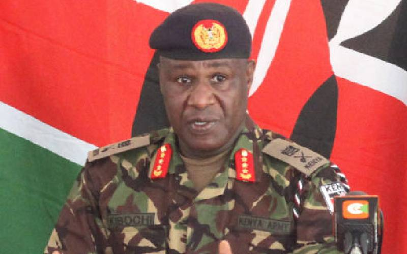 What does the military got to do with meat? CDF Kibochi explains