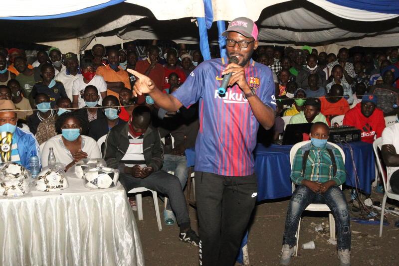 Amos Wakili - man who wants FKF Nairobi Branch chairmanship post