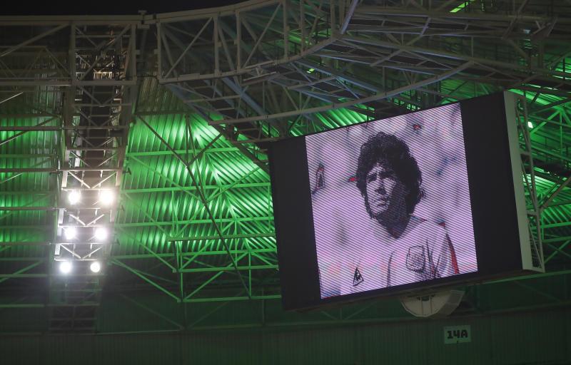 World's reaction to death of Argentina football legend Maradona [PHOTOS]