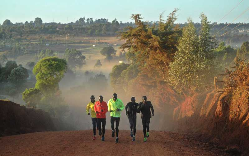 Iten marathoners