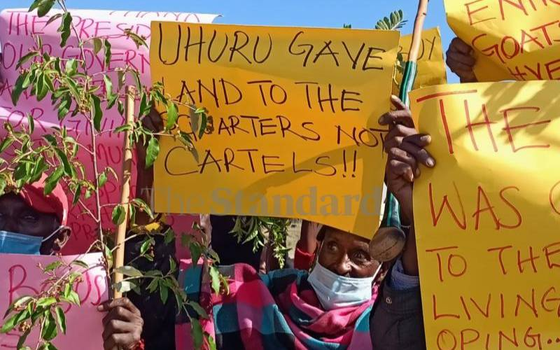 Yare residents protest attempt to evict them from land given by State