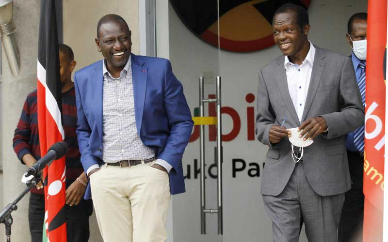 Two-hour meeting that humbled Ruto - The Standard
