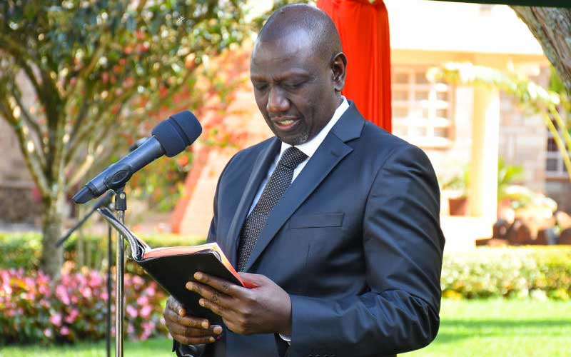 You are planning to reject election results, Ruto told