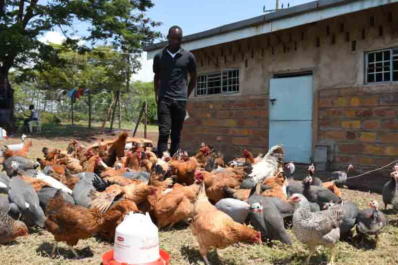 Young Kendu Bay man's business dream flourishes in ruined buildings