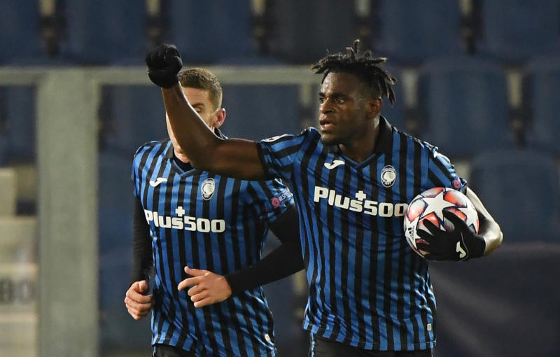 Zapata double allows Atalanta to fight back and share points with Ajax