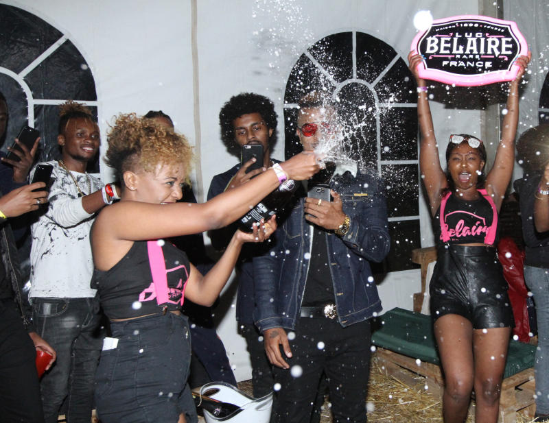 Belaire crew savoir the moments as they usher in t