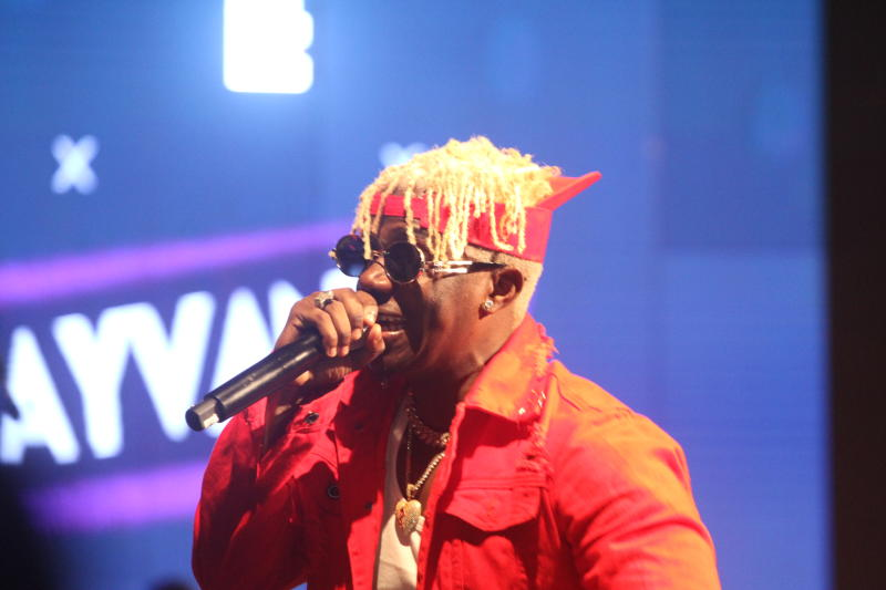 Tanzania's bongo singer Rayvanny during ushering i