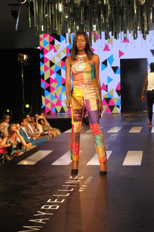 A models wears Rialto fashion design by Lucy Rao D