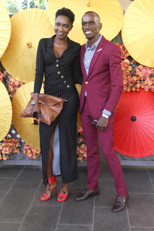 Crystal Okusa and During Fashion HighTea at the Ze