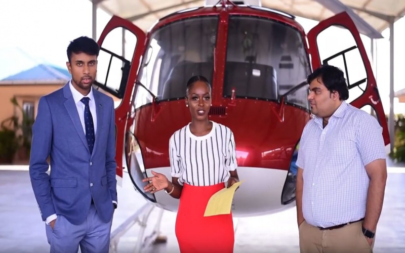 ResQmed, the new and reportedly only helicopter evacuation service in Kenya. It launched on 1st Dece