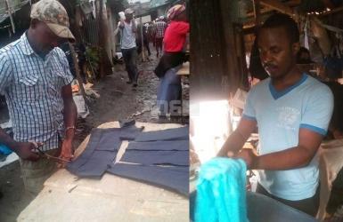 He irons mitumba at Gikomba: Nahashon earns more money than accountants