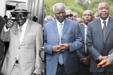 Revealed: Why former President Mwai Kibaki gave an incoherent speech at Governor Nderitu Gachagua's burial