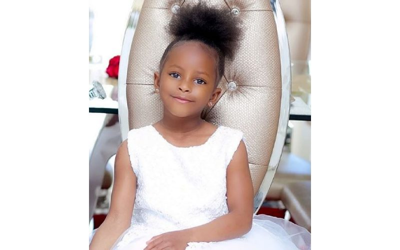 Adorable messages dedicated to Princess Tiffah by her family as she turns 5