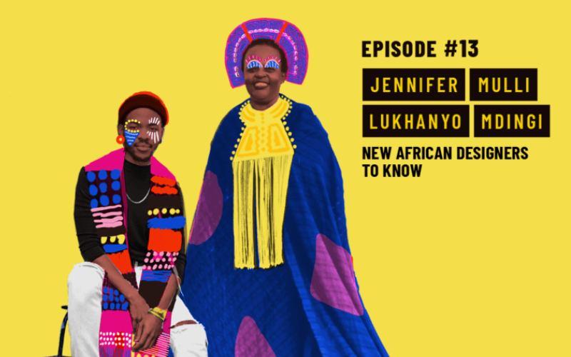 Ethical Fashion Podcast Episode 13: African Designers to Know - Lukhanyo Mdingi and Jiamini Kenya