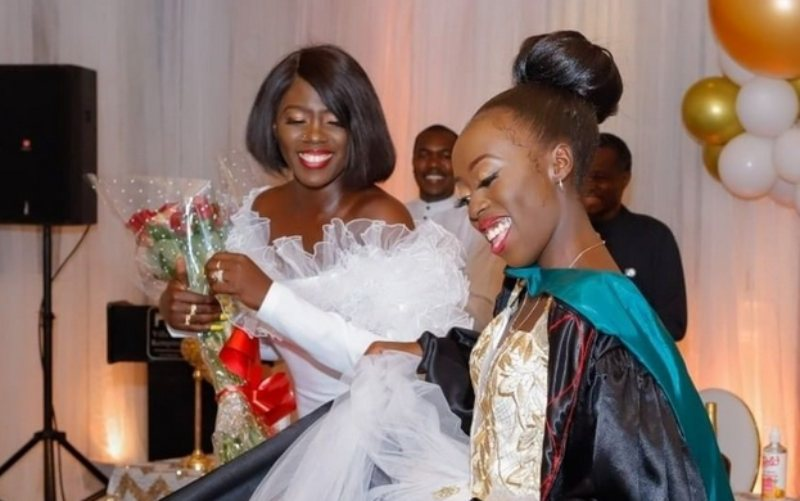 Akothee disappointed by guests glued on their phones during Vesha's party
