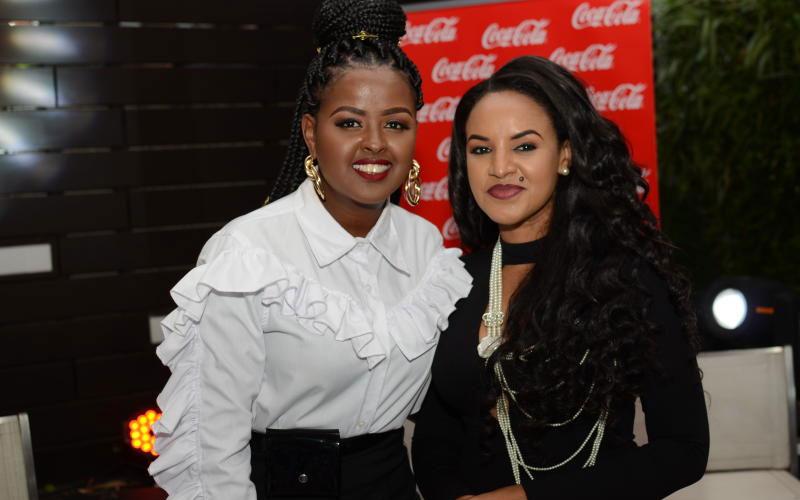 Amina Abdi and Ethiopia artist Mahlet - Coke Studi