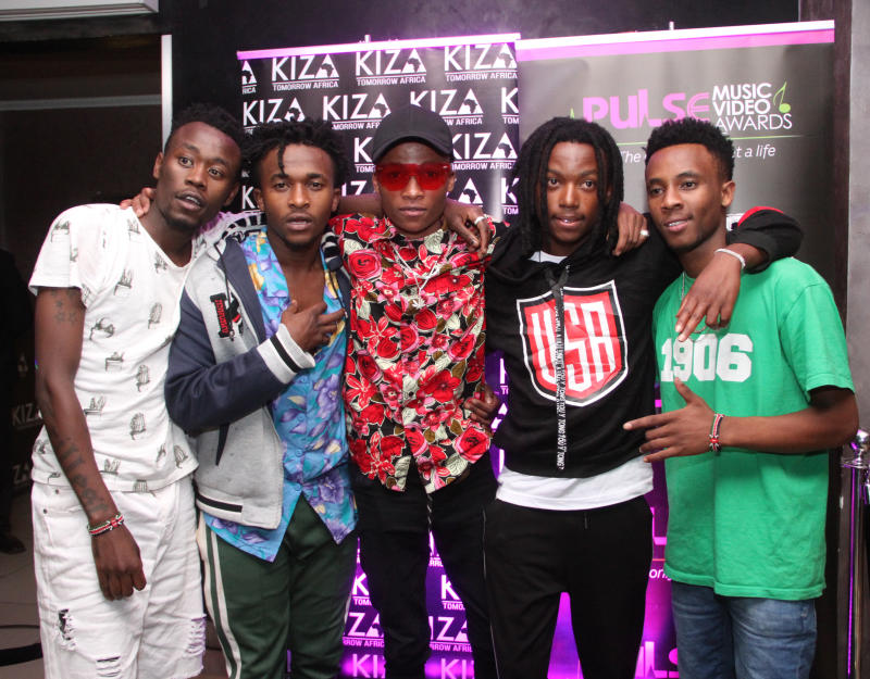 Pulse Music Video Awards 2019 nominees party at Kiza
