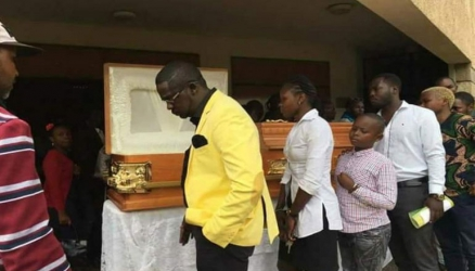 Ayeiya to be buried alongside his grandma today