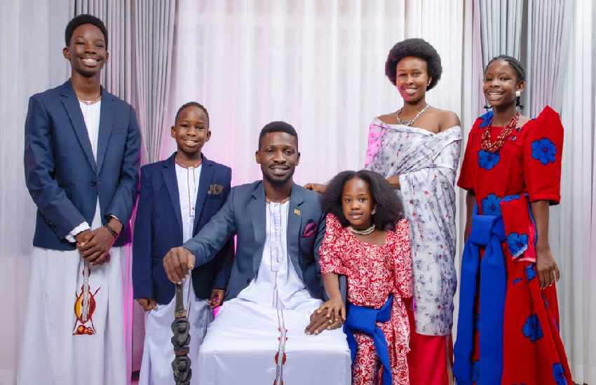 Bobi Wine celebrates wife Barbie in moving message