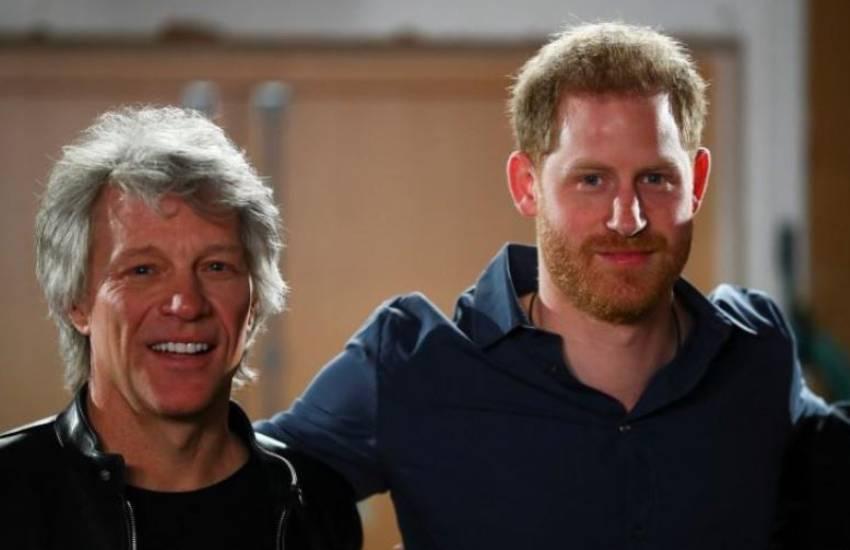 Bon Jovi, Prince Harry launch charity single 'Unbroken'
