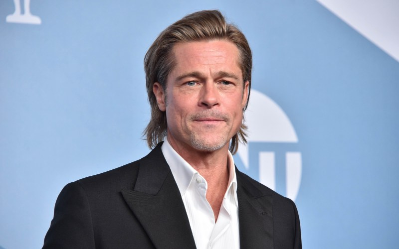 Brad Pitt 'not angry' about girlfriend's comment about Angelina as he 'feels loved'