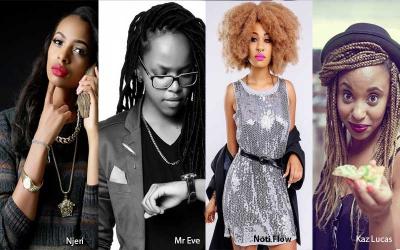 Celebrity chicks in Kenya that girls like
