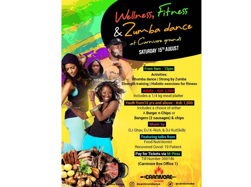 Dance to your health in the Zumba/Rhumba festival