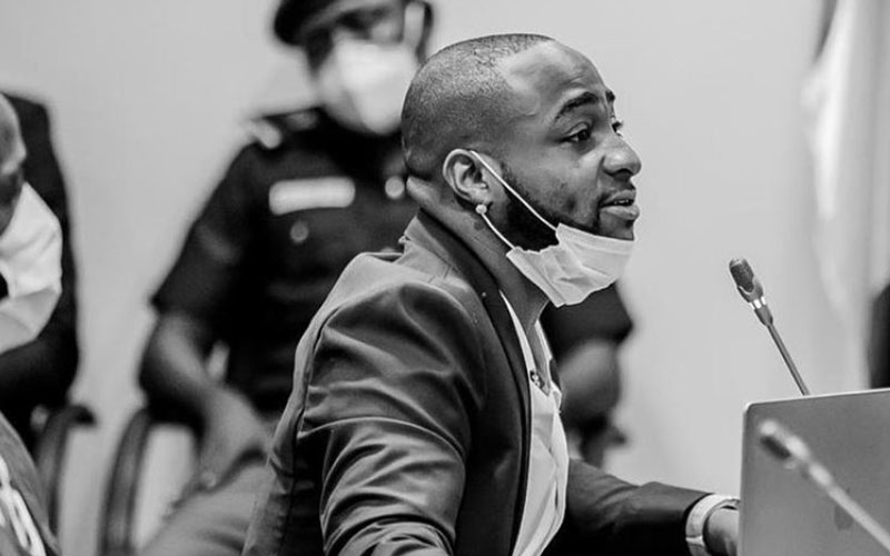 Davido accused of assaulting bouncer days after condemning police brutality