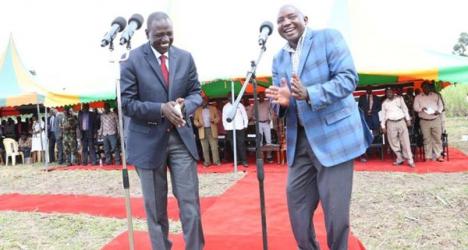 Deputy President Ruto likes our Lunje women, locals claim