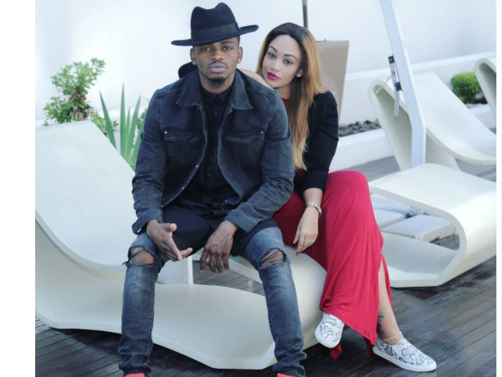 Diamond excites netizens after expressing his love to Zari