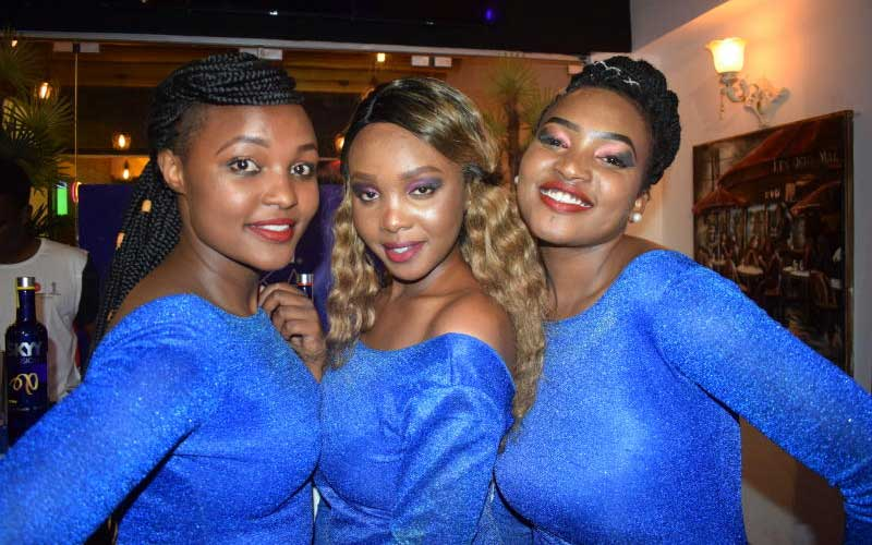 Judy Mwende,Lynne Gikunda and Clara Kerudu
