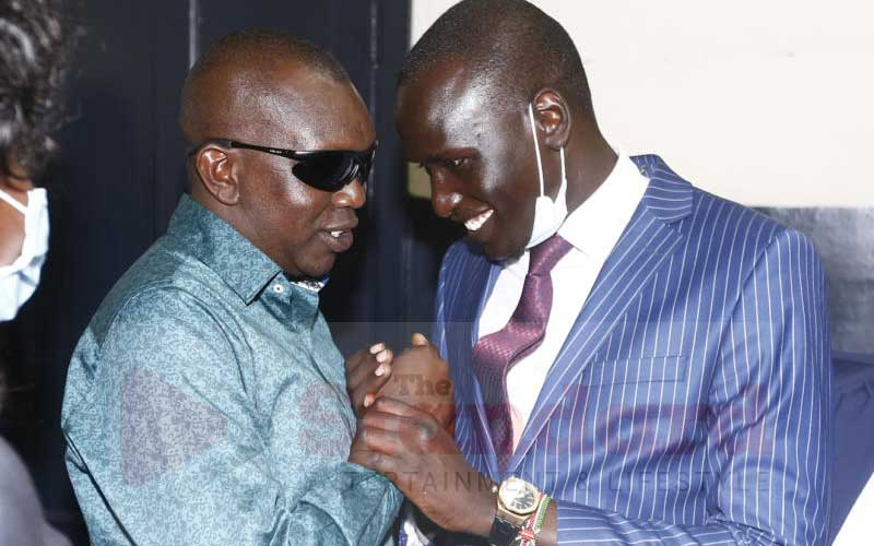 Elite guards attached to Ruto grilled on Oscar Sudi's escape drama