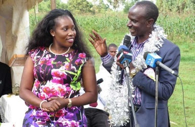 End of the road: Teacher's union boss Wilson Sossion dumps cute new wife over cheating allegations