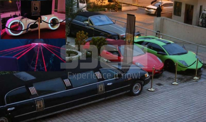 EXCLUSIVE! Inside B-Club where champagne washes hands and Lamborghinis drop guests home
