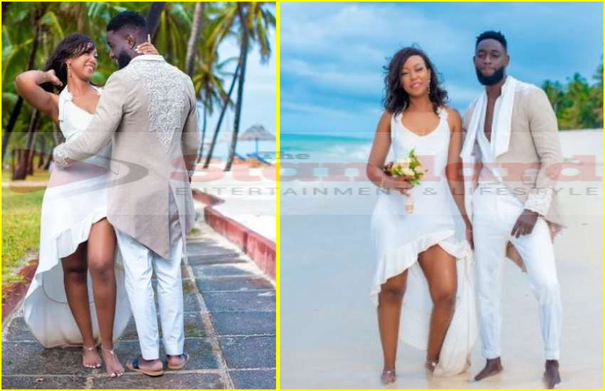 EXCLUSIVE: Photos from Cula Budi's fairytale wedding at Diani Reef Hotel