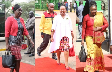 Feminine Canaan: Welcome your excellency, Madam Governor