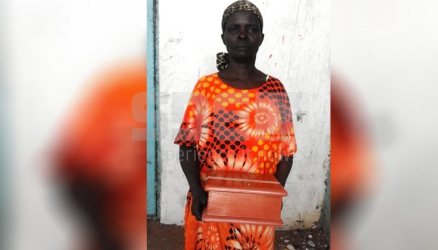 For the love of her late Mzungu husband, Tiriki woman walks around with his ashes