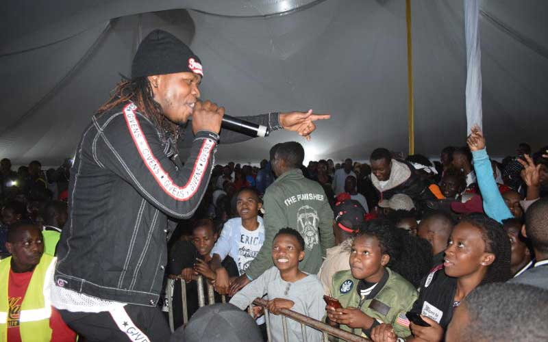 Artist Timmy Tdat thrills the crowd