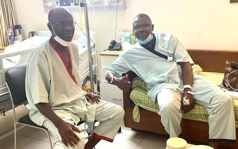 Ghost Mulee hospitalized after travelling to India with ailing brother