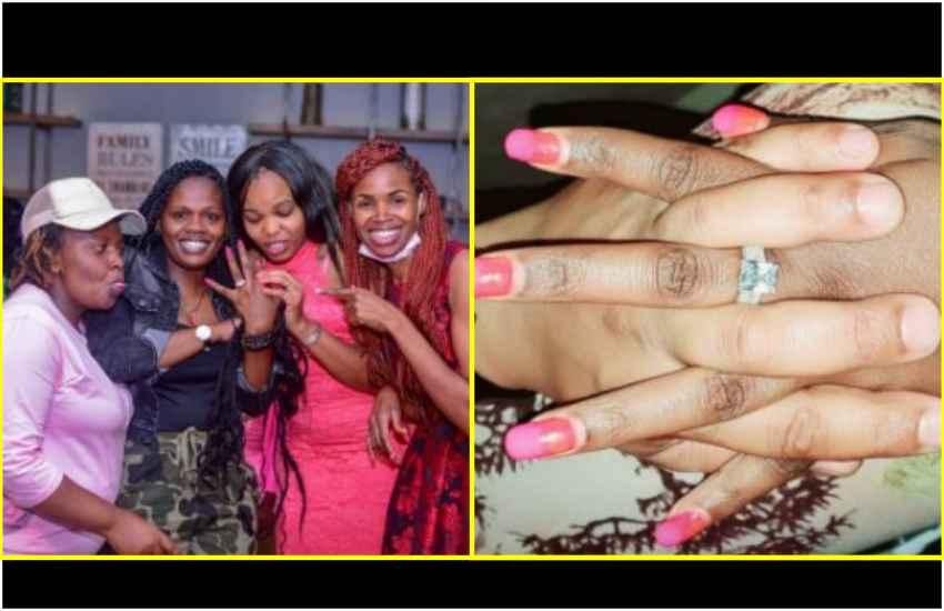 Gospel singer Betty Bayo engaged
