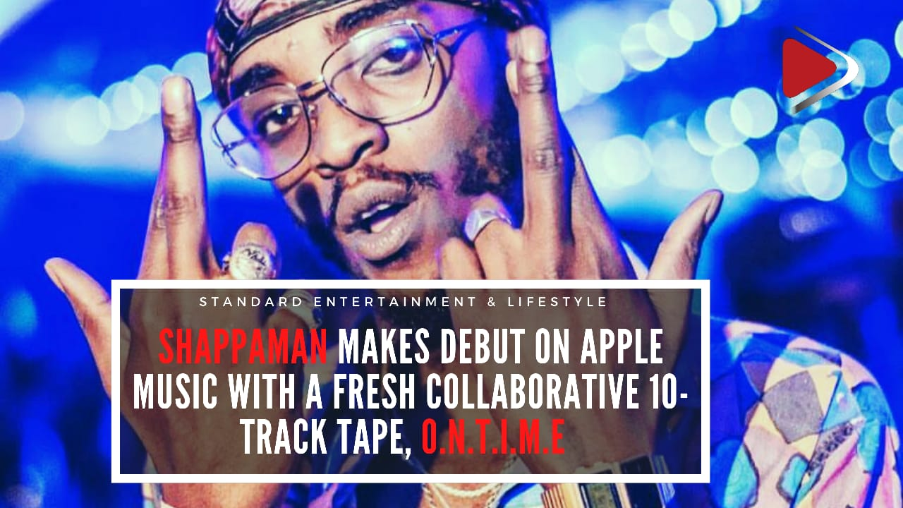 Shappaman makes debut on Apple Music with a fresh collaborative 10 track tape