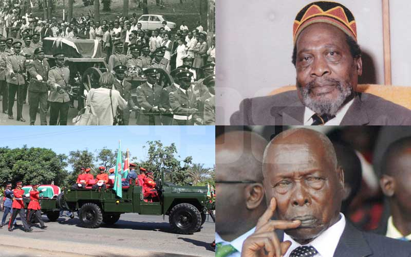 How Kenyatta's 1978 State funeral differed from Moi's